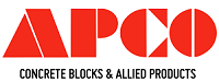APCO Concrete Blocks Logo